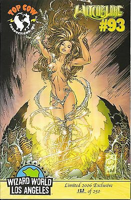 Witchblade # 93 Wizard World LA Los Angeles Cover # 123 of 250