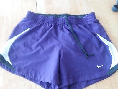 Nike Shorts size Small purple and white Women's Running Casual Athletic