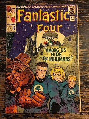Fantastic Four #45 First Appearance of the Inhumans CGC It