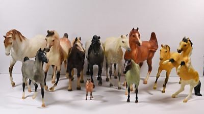 Lot of 11 Breyer Horses