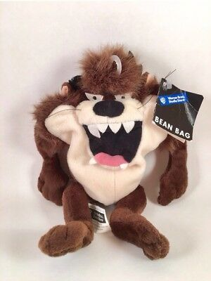"""Taz Warner Brothers Studios Store Exclusive 6"""" Plush W / Tags 1998 Looney Tunes"""