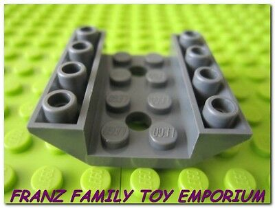 Lego 25 New Dark Bluish Gray Slope 45 2 x 1 Double Inverted  Sloped Parts
