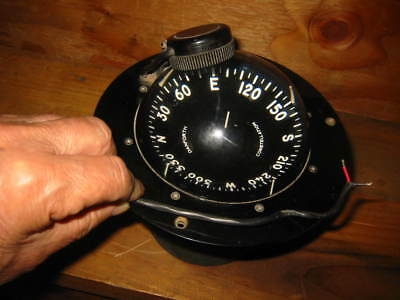 compass, boat compass, danforth 5 inch constellation,  VINTAGE TESTED WORKS