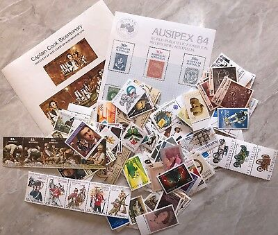 AUSTRALIA UNCANCELLED MINT POSTAGE STAMPS FACE VALUE  $66.         ph236