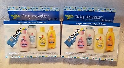 New Baby Care Travel Pack Overnight Essentials Bath Skin Products Baby Gift Set