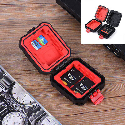 Waterproof Memory Card Storage Carrying Case Protecter Box Holder For SD CF HOT