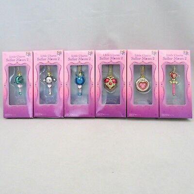 "BANDAI Sailor Moon ""Little Charm 2"" Accessory 6 Type Complete set"