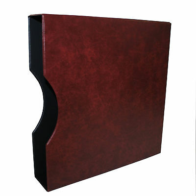 Burgundy Slipcase for Seven Seas D Ring Binder