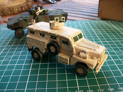 "1/72 gebaut / built "" MRAP Mine clearing Vehicle "" bemalt / painted"