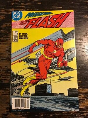 The Flash #1 (DC, 1987) CGC It Combine Shipping Discount