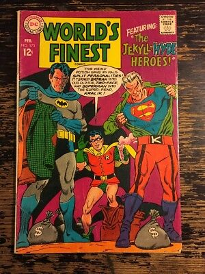 World's Finest #173 (DC 1968) 1st SA Appearance of Two-Face CGC It
