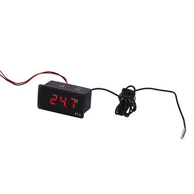1 pcs Mini Digital LCD Display Indoor Outdoor Temperature Meter Thermometer Car