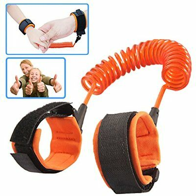 Baby Anti-Lost Wrist Band Belt Harness Strap Child-Parent Safety Flexible Link