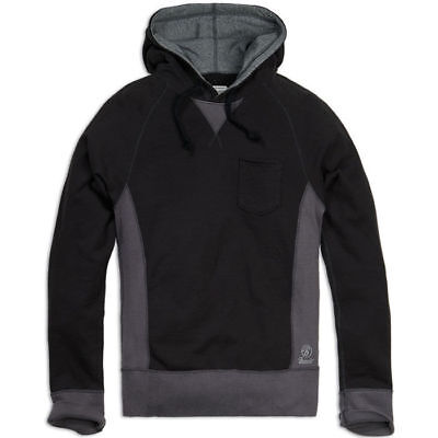 Brandit 5016.79 Mens Casual Sport Hooded Outdoor Jumper Blouse Black Anthracite