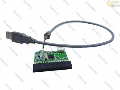 USB Cable to 34pin Floppy Interface Adapter PCB Converter Board driver board