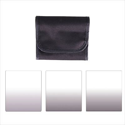 3pcs ND2+ND4+ND8 Neutral Density ND 2 4 8 Square Filter Kit for Cokin P Series