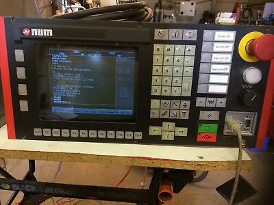 NUM 1020 CNC Control controller From Wadkin Router SCM with Monitor Display