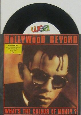 """Hollywood Beyond  what s the colour of money / , 7"""" 45"""