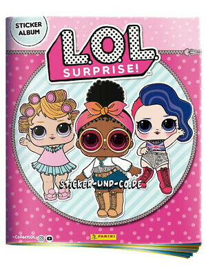 Panini LOL L.O.L Surprise Sticker Stickeralbum Leeralbum Neu