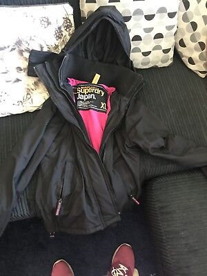 womens superdry windcheater jacket xl