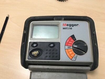 Megger Insulation Tester MIT320 Second Hand without Leads