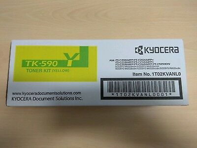 KYOCERA TK-590 Toner Kit Y (yellow)