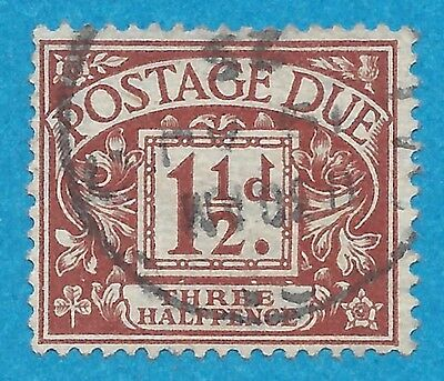 Great Britain  J3  Used  Postage Due