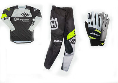 2019 Husqvarna Motorcycle Factory Replica Gear Shot - Pick Jersey Pant or Gloves