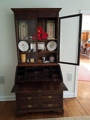 MUST SELL! BEST OFFER ! antique secretary desk, rare 18th centhury