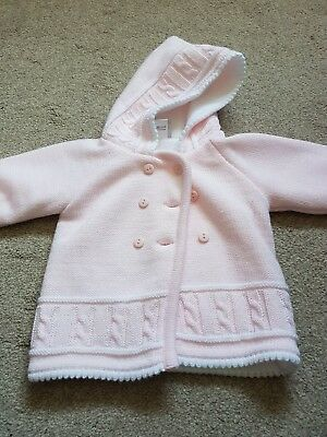 Baby girls pram coat, age 6-12 months
