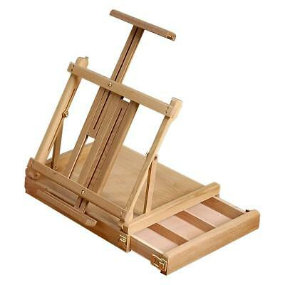 Loxley WENTWORTH Wooden Table Top Artists Painting Easel with Drawer
