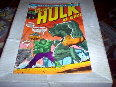 The Incredible Hulk # 171 Trimpe Art The Rhino & Abomination Issue Look Vf-