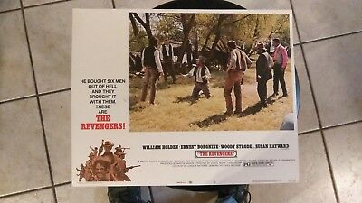The Revengers 1972 #2 11X14 Lobby Card William Holden Ernest Borgnine Susan Hayw