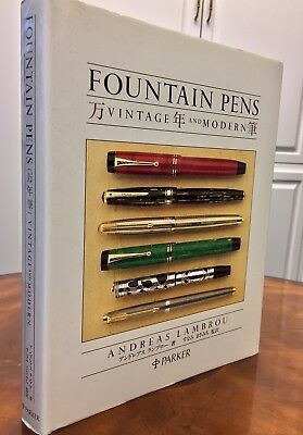 Fountain Pens Vintage and Modern, Japanese Translation, Parker Edition