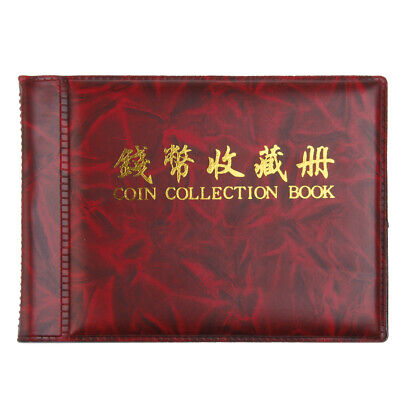 Banknote Collection Album Paper Money Pocket Wallet Coins Storage 10 Pages
