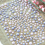 Mixed Self Adhesive Pearl Stickers Pink & Lilac - Flat-back, Pearl, Gems