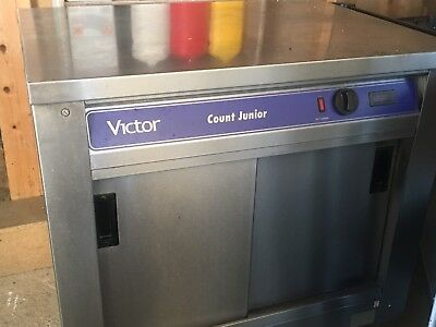 portable catering  hot cupboard  victor count junior
