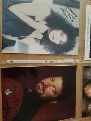 Autographs Lot of 14 Signed at Conventions Movies, TV Sci-Fi