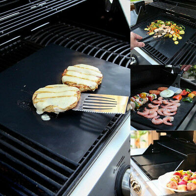 Reusable BBQ Grill Mat & Oven Cooking Non Stick Liner