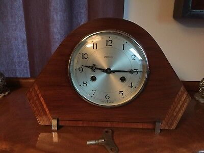 Ingersoll Art Deco Vintage mantle Clock