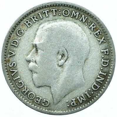 1920-1925 Silver Threepence George V. /Choose Your Date!      One Coin/Buy! #6