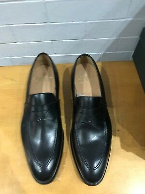 77643ddc8bd CROCKETT   JONES Sydney Loafers in Black Calf. Size 11.5 US (10.5 UK ...