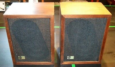 VINTAGE EPI EPICURE Products M50 Bookshelf Speakers Monitors Tested and  Working