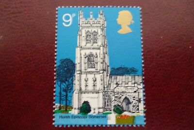 GB Error Of Missing Phosphor Un/Mint No908Churches UK Buyers Only.