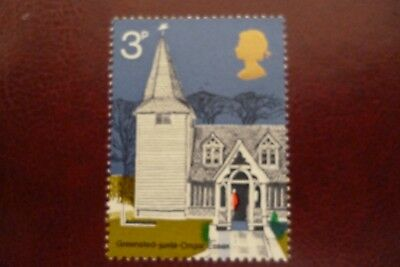 GB Error Of Missing Phosphor 3p Churches Un/Mint Cat £8.00 UK. Buyers Only.