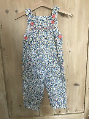 Mini boden Baby Girl Dungarees, 12-18 months