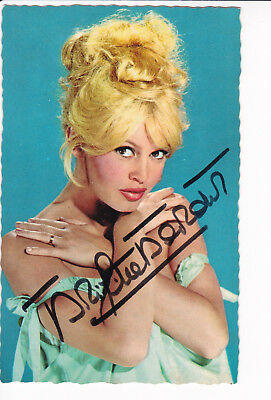 Brigitte BARDOT (1934) original sign. vintage 1950s photo Sam Levin / autograph