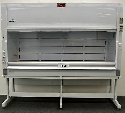 8' -  NuAire Chemical Laboratory Fume Hood w/ Base Stand Included -
