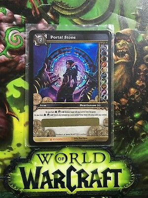 World of Warcraft TCG: Portal Stone UNSCRATCHED