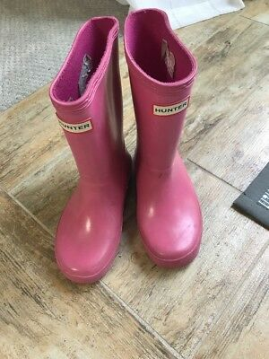 Girls Hunter Boots Sz 10 ** Perfect For All Seasons **!
